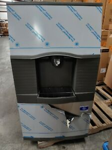 as Is Manitowoc Ice Spa310 Floor Model Cube Ice Dispenser 180 Lb Storage 115v