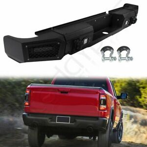 New Complete Steel Rear Bumper Assembly For Dodge Ram 1500 2013 2014 2018