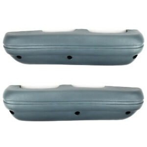 69 70 Ford Mustang Arm Rest Pad Light Blue Standard Interior Pair Armrest Pads