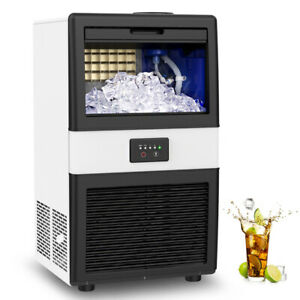 Built in Ice Maker Machines Commercial Ice Cube Machine Undercounter Freestand