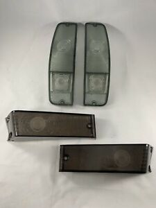 1970 72 Ford F100 F250 Smoke Lights Package Tail Lights Turn Signal Lenses