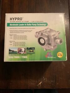 Hypro 7560xl Silver Series Xl Pump 7 Or 8 Rollers