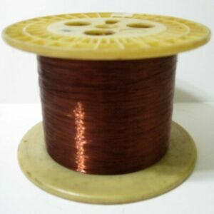 36 Gauge Awg Enameled Magnet Wire On Large 5 5 8 X 4 Spool