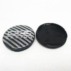 4x 55mm Oz Racing Wheel Centre Caps Hub Cover Carbon Aluminum M582