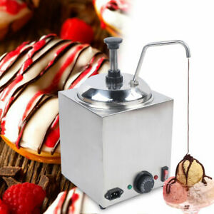 2 6 Qt Electric Counter Nacho Cheese Sauce Warmer Dispenser 650w Large Capacity