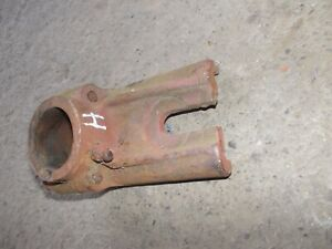 Farmall H Tractor Front Pedestal Cultivator Steering Bracket Mounting Bracket