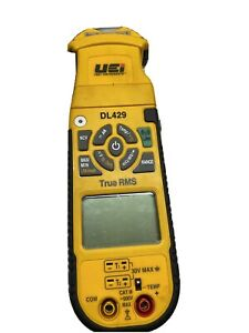Uei Dl429 True rms Ac Hvac Clamp Meter With Wireless Connectivity