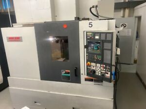 Used Mori Seiki Duracenter 5 Cnc Vertical Mill 2004 Fanuc Tsc 1000 Psi 5 axis