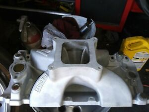 Brodix Hvh Intake Manifold Big Block Chevy Hvbb Single Plane High Rise Racing