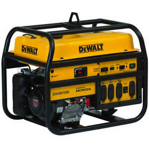 Dewalt Dxgn7200 6100 Watt Electric Start Professional Portable Generator W