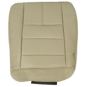 Driver Bottom Seat Cover Camel Tan For 2008 2010 Ford F250 F350 F450 F550 Lariat
