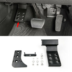 Left Foot Rest Pedal Pegs Kick Panel For 2018 2021 Jeep Wrangler Jl Gladiator Jt