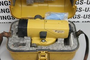 Topcon Laser At b3 Automatic Level