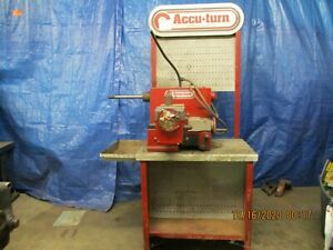 Accu Turn Model 8922 Disc And Drum Brake Lathe For Parts Only