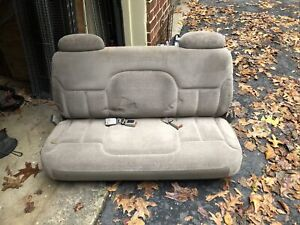 1997 Chevy Suburban 3rd Row Bench Seat