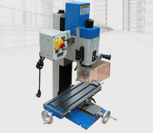 600w Multifunction Rotary Drilling Milling Machine For Woodworking 220v