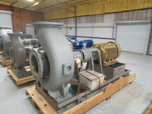 Flowserve Recirculation Centrifugal Pump Unused 7925 Gpm 316ss