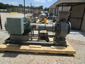 Flowserve Recirculation Centrifugal Pump 7925 Gpm 316ss
