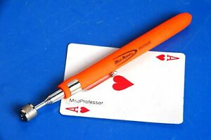 Blue Point Orange 25 1 2 Extended Telescopic Magnetic Pick up Pocket Tool New