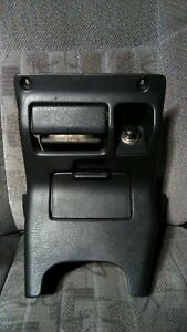 92 95 Honda Civic Eg Lower Center Dash Trim Bezel Power Outlet Ashtray Black
