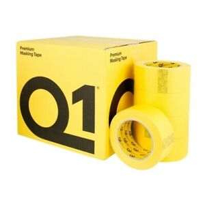 Q1 2 Inch 48mm X 55m Yellow Masking Tape Case Of 20 Mt148 20