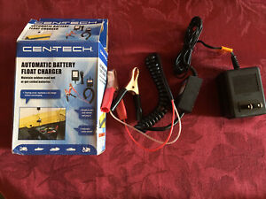 Cen Tech Automatic Battery Float Charger 12v New