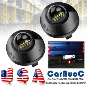 For Ford F 150 F 250 F 350 F 450 Ford Ranger1983 11 Led License Plate Light Lamp
