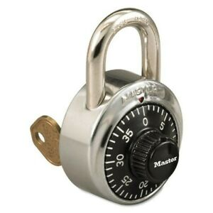 Master Lock 1525 General Security Combination Padlock With Key Control Feature