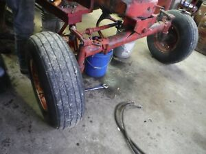 Ih Farmall M 400 450 Tractor Schwarts Wide Front 6 Bolt Wheels 9 5l 14 Tires