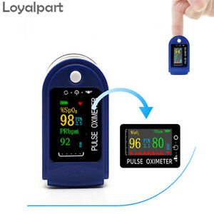 Oled Spo2 Fingertip Pulse Oximeter Blood Oxygen Saturation Heart Rate Monitor Us