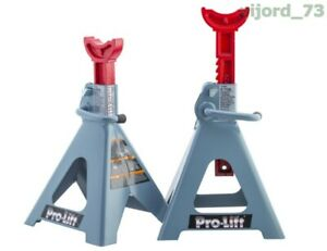 T 6906d Double Pin Jack Stand 6 Ton 1 Pack