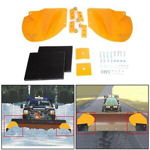 New Snow Plow Extensions Add 20 To Your Snowplow Pro Wings Yellow