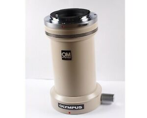 Olympus Om Microscope Camera Photo Tube Adapter L For Bh2 Bx Ck Bh Imt