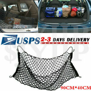 Truck Rear Trunk Bed Envelope Style Mesh Cargo Net For Toyota Tacoma 1996 Up