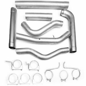 Krator 4 Aluminized Steel Exhaust System For 2001 2007 Chevy Gmc Duramax 6 6l