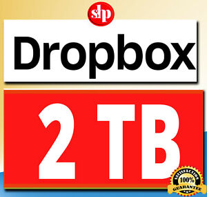 Dropbox 2tb Account Lifetime Free Subscription Fast Delivery