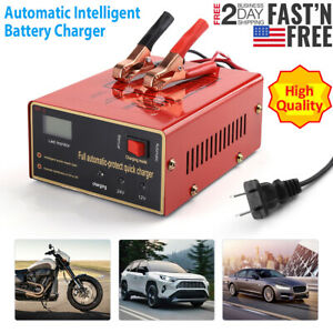 New Maintenance free Battery Charger 12v 24v 10a 140w Output For Electric Car Us