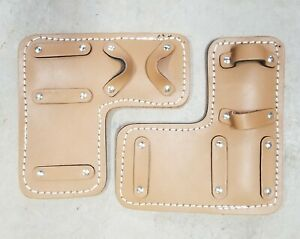 Tree Climbing Spike Spur Pair Leather Pads Replacement New