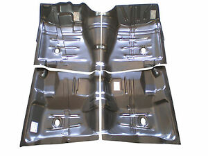 64 65 66 67 Chevelle Interior Floor Pan Kit 4 Piece