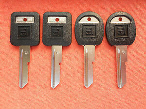 4 Chevy Gmc Truck Nos Key Blanks Keys 1988 1989 1990