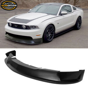 Fits 10 12 Ford Mustang Gt St Style Front Bumper Lip Spoiler