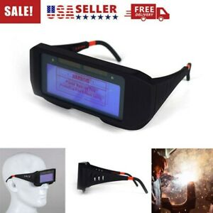 Solar Powered Auto Darkening Welding Mask Helmet Eyes Goggle Welder Glasses Hot