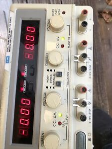 Gw Instek Gpc 3030d Dc Lab Power Supply Dual Tracking With 5v Fixed
