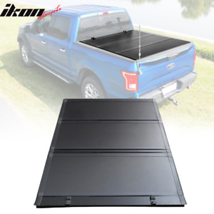 Fits 09 18 Dodge Ram 5 7ft Bed Low Profile Hard Tri Fold Trunk Bed Tonneau Cover