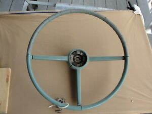 Studebaker 53 55 Steering Wheel Contact Plate As Is Or Renovate To Great