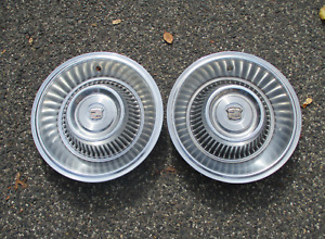 Factory 1963 1964 Cadillac Coupe Deville Sedan Fleetwood Hubcaps Wheel Covers