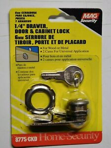 Mag Security 8775 Ckd 1 4 Drawer Door Cabinet Lock For Wood Or Metal