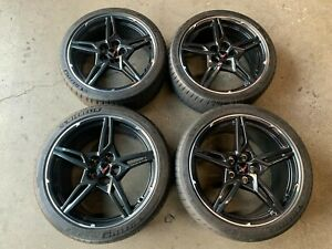 2021 Corvette C8 Factory 19 20 Wheels Tires Oem 23404163 23404154 Michelin