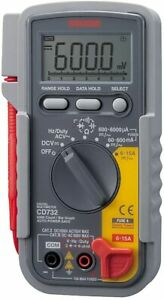 Sanwa Electric Instrument Digital Tester Cd732 Japan Import New W tracking