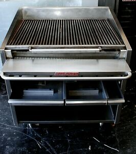 Magikitch n Fm 636 Heavy Duty Commercial Gas Charbroiler Steak House Grill Broil